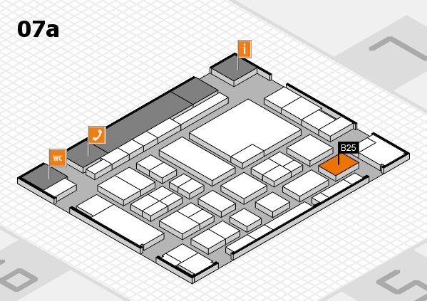 boot 2017 hall map (Hall 7a): stand B25