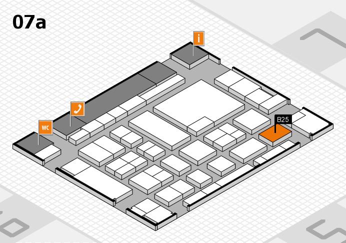 boot 2017 Hallenplan (Halle 7a): Stand B25