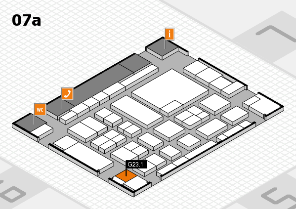 boot 2017 hall map (Hall 7a): stand G23.1