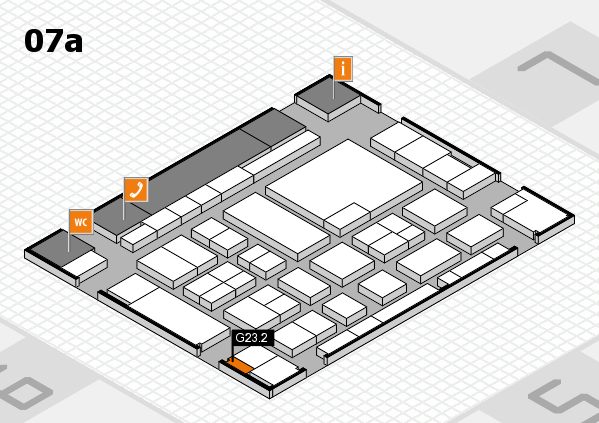 boot 2017 hall map (Hall 7a): stand G23.2