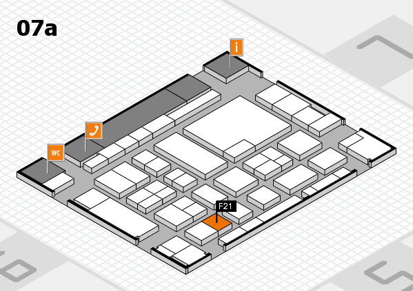 boot 2017 hall map (Hall 7a): stand F21