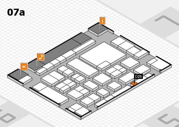 boot 2017 hall map (Hall 7a): stand D28