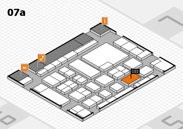 boot 2017 hall map (Hall 7a): stand D22