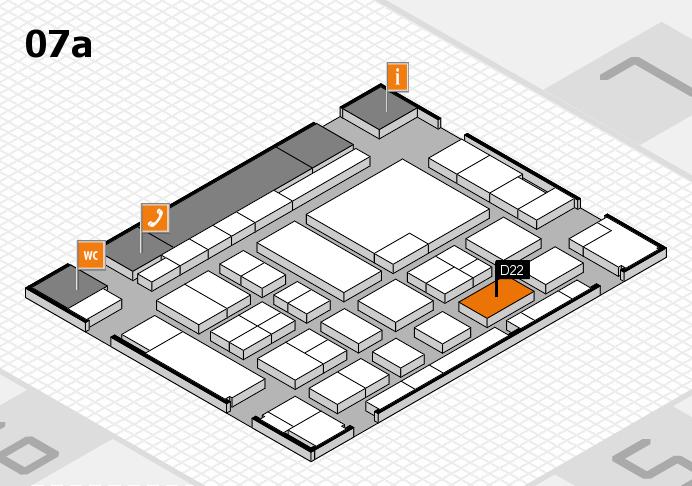 boot 2017 Hallenplan (Halle 7a): Stand D22