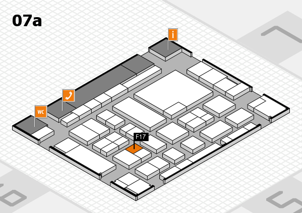 boot 2017 hall map (Hall 7a): stand F17