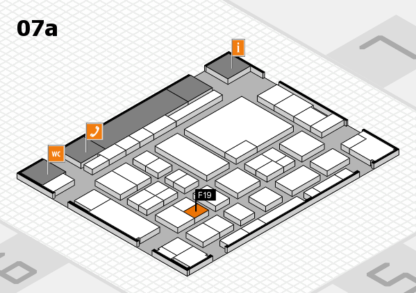 boot 2017 hall map (Hall 7a): stand F19