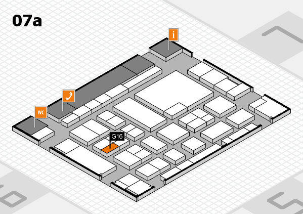 boot 2017 Hallenplan (Halle 7a): Stand G16
