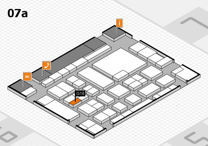 boot 2017 hall map (Hall 7a): stand G16