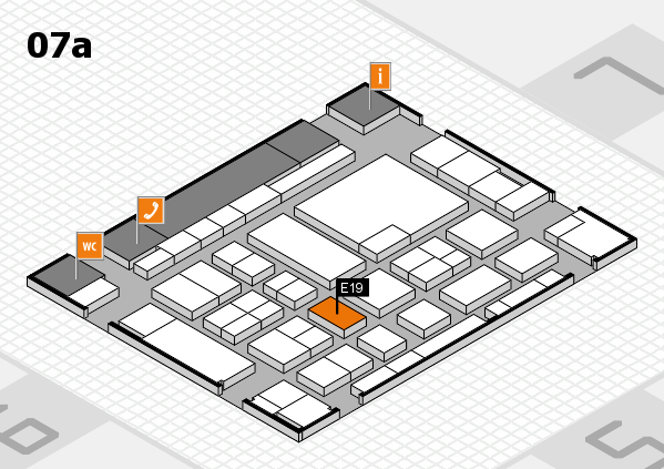 boot 2017 hall map (Hall 7a): stand E19