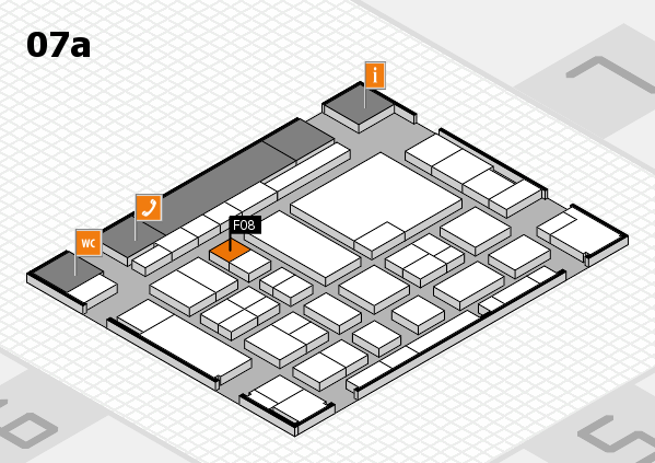 boot 2017 hall map (Hall 7a): stand F08