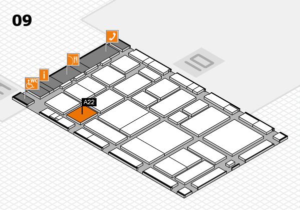 boot 2017 hall map (Hall 9): stand A22