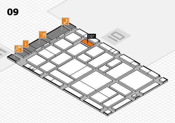 boot 2017 hall map (Hall 9): stand D21