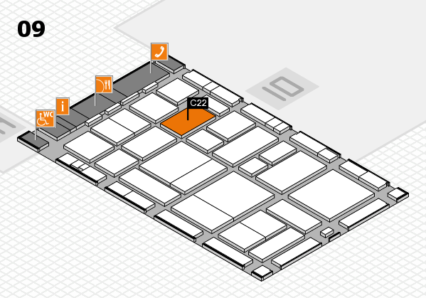 boot 2017 hall map (Hall 9): stand C22