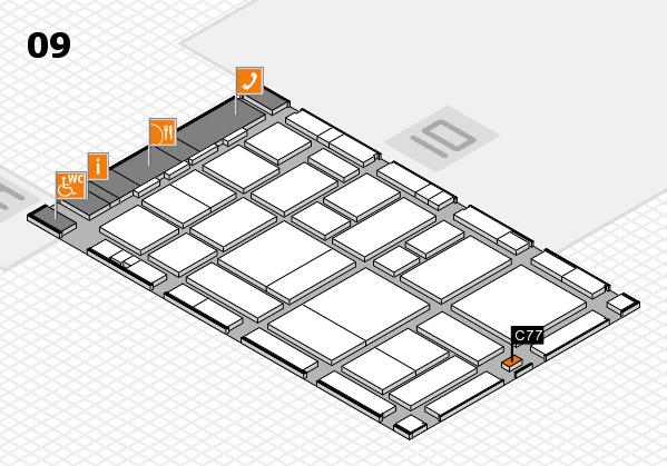 boot 2017 hall map (Hall 9): stand C77