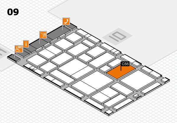 boot 2017 hall map (Hall 9): stand C56