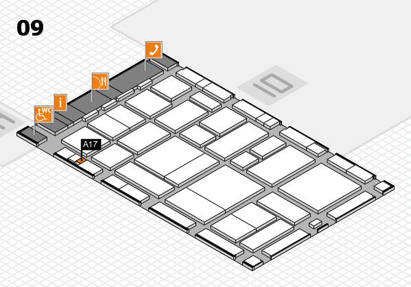 boot 2017 hall map (Hall 9): stand A17
