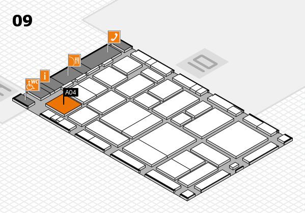 boot 2017 hall map (Hall 9): stand A04