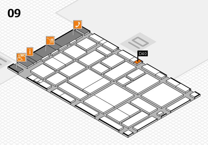 boot 2017 hall map (Hall 9): stand D40