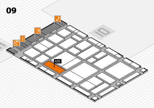 boot 2017 hall map (Hall 9): stand A26