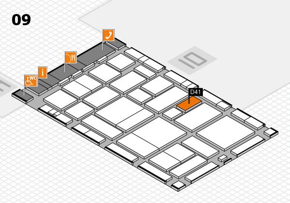boot 2017 hall map (Hall 9): stand D41