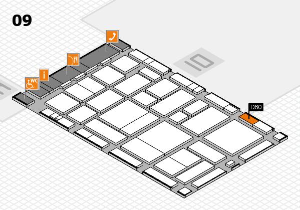 boot 2017 hall map (Hall 9): stand D60