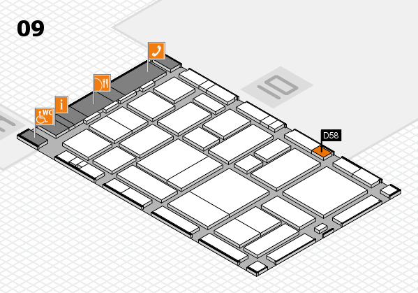 boot 2017 hall map (Hall 9): stand D58