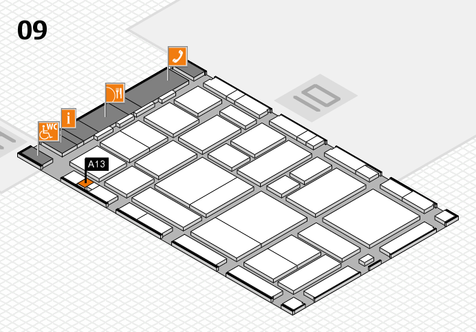 boot 2017 hall map (Hall 9): stand A13