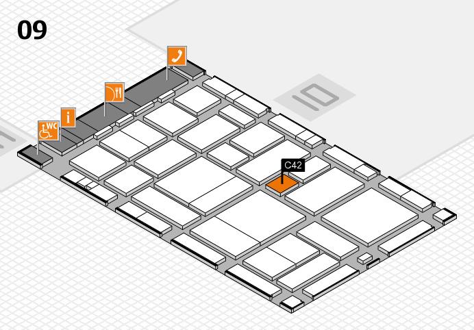 boot 2017 hall map (Hall 9): stand C42