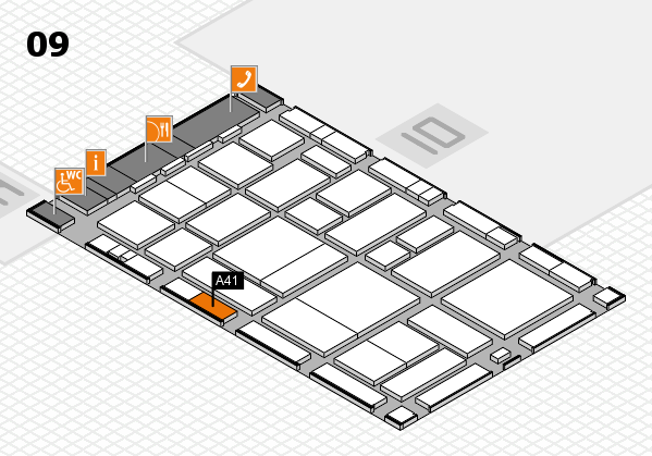 boot 2017 hall map (Hall 9): stand A41