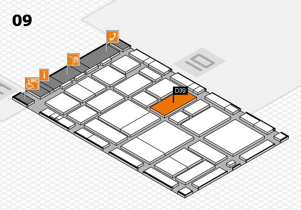 boot 2017 hall map (Hall 9): stand D39