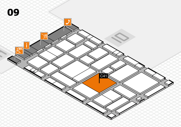 boot 2017 hall map (Hall 9): stand C41