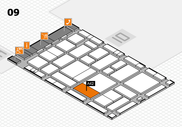 boot 2017 hall map (Hall 9): stand A42