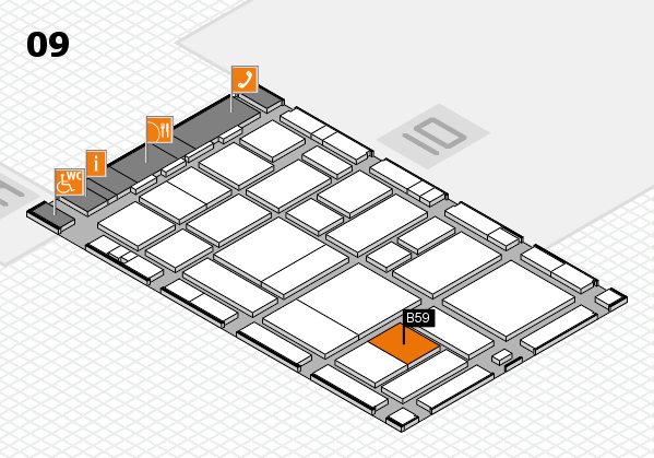 boot 2017 hall map (Hall 9): stand B59
