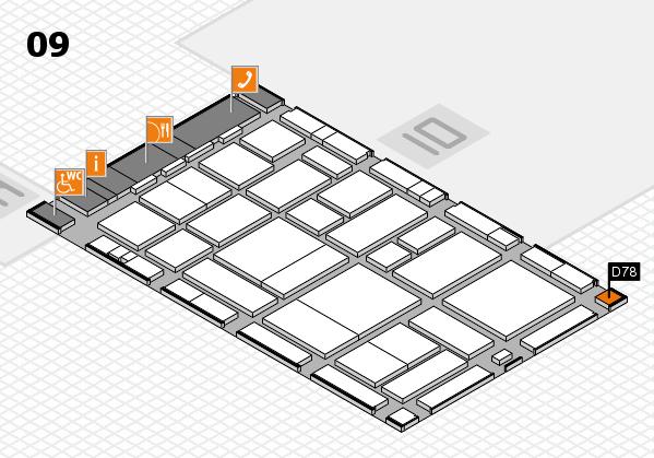 boot 2017 hall map (Hall 9): stand D78