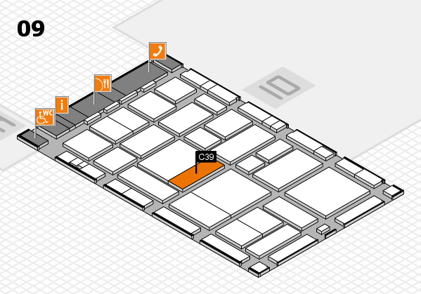 boot 2017 hall map (Hall 9): stand C39