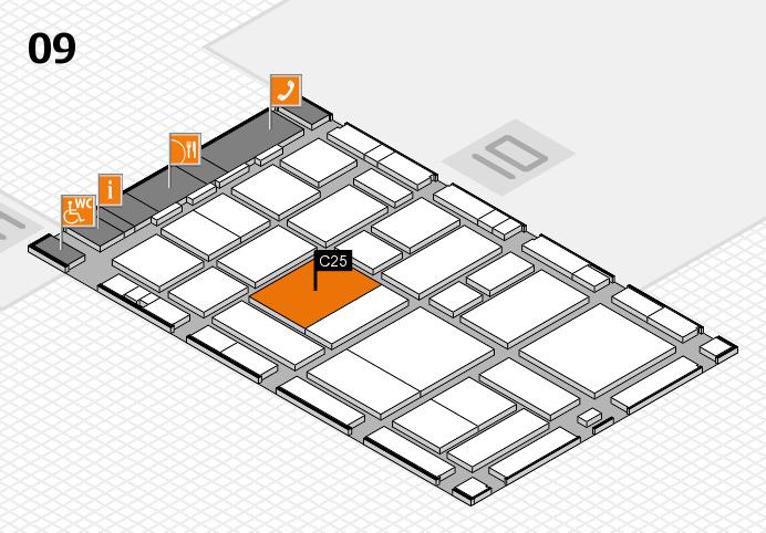 boot 2017 hall map (Hall 9): stand C25