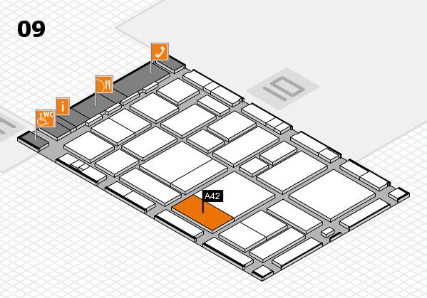boot 2017 hall map (Hall 9): stand A42