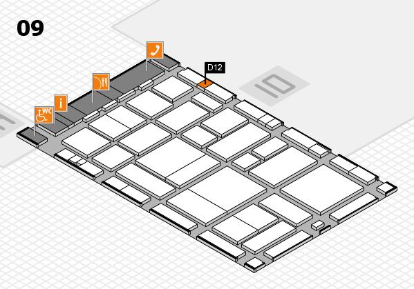 boot 2017 hall map (Hall 9): stand D12