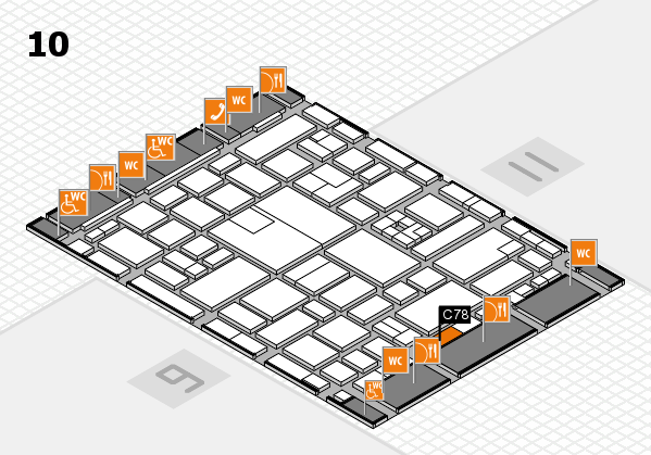 boot 2017 hall map (Hall 10): stand C78