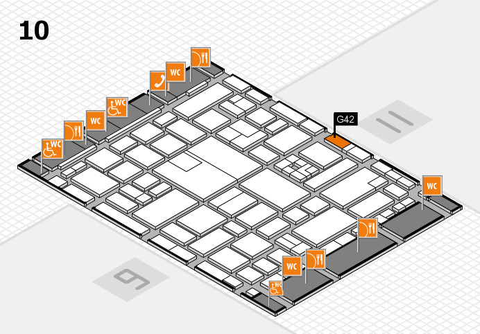 boot 2017 hall map (Hall 10): stand G42