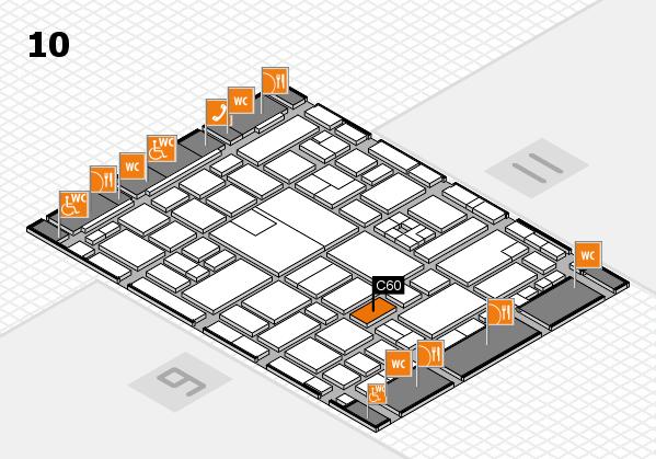 boot 2017 hall map (Hall 10): stand C60