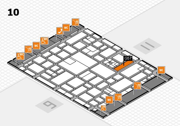 boot 2017 hall map (Hall 10): stand G57