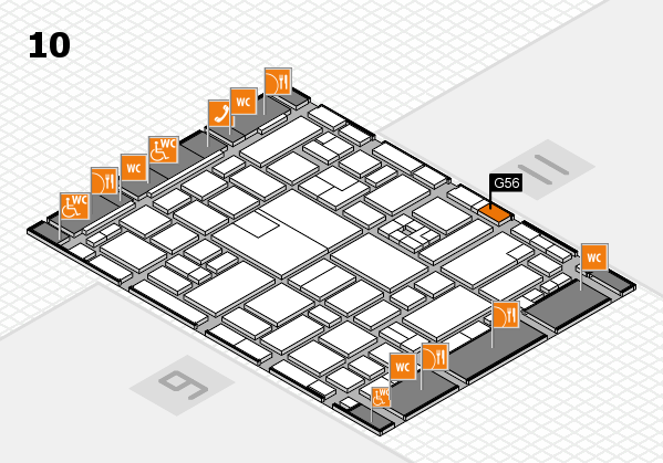 boot 2017 hall map (Hall 10): stand G56