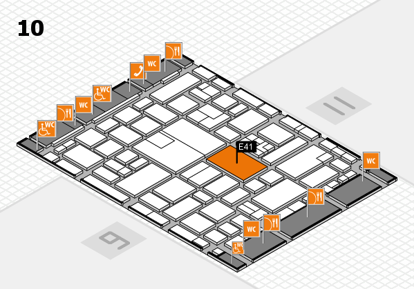 boot 2017 hall map (Hall 10): stand E41
