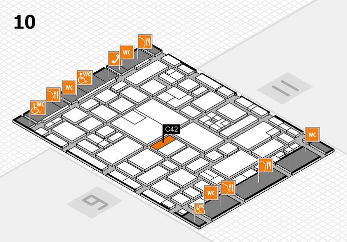 boot 2017 hall map (Hall 10): stand C42