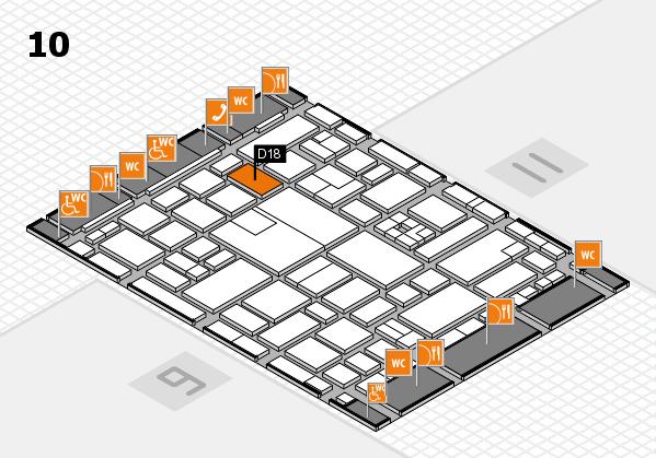 boot 2017 hall map (Hall 10): stand D18