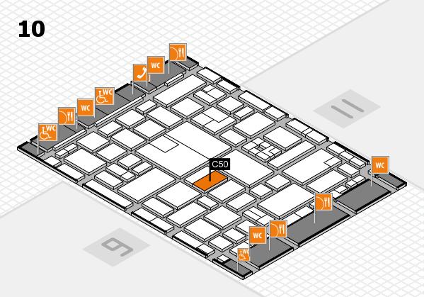 boot 2017 hall map (Hall 10): stand C50