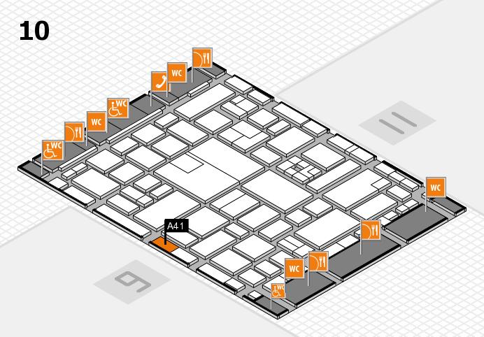 boot 2017 hall map (Hall 10): stand A41