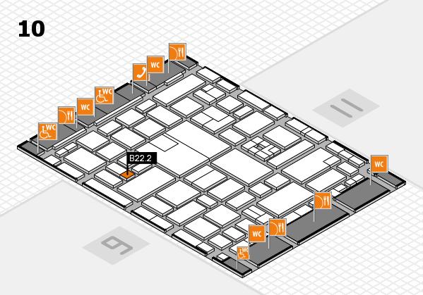 boot 2017 hall map (Hall 10): stand B22.2