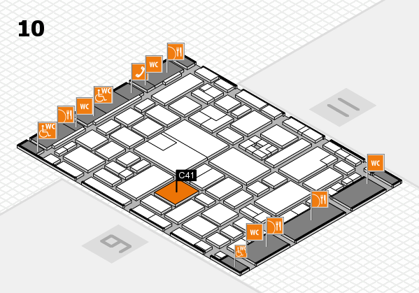 boot 2017 hall map (Hall 10): stand C41